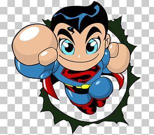 Superman Logo Superhero Boy PNG