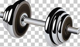 Barbell Weight Training Dumbbell Physical Fitness PNG