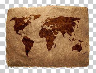 Old World Globe World Map PNG