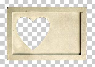 Brand Heart Beige Font PNG