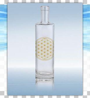 Glass Bottle Vodka Wine PNG