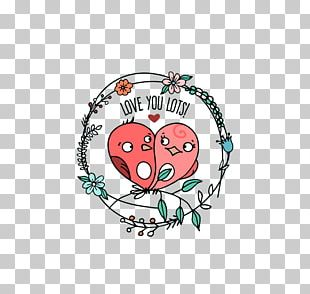 Lovebird Significant Other Valentines Day PNG
