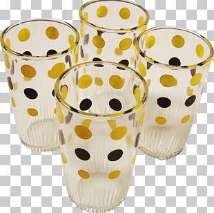 Cup Glass Material Flowerpot Baking PNG