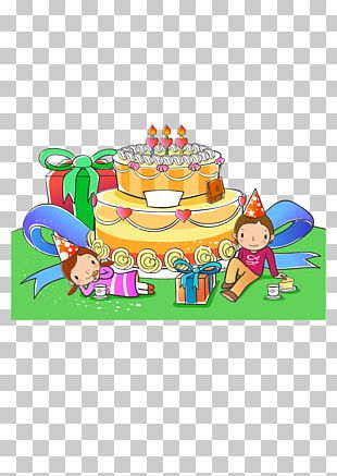 Happy Birthday To You Child Greeting Card PNG