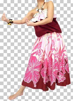 Hula Costume Skirt Dress セットアップ PNG