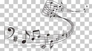 Musical Note Staff Sheet Music PNG