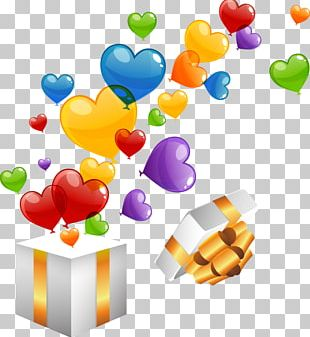 Happy Birthday Greeting & Note Cards Wish Balloon PNG