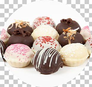 Chocolate Truffle Macaron Cupcake Petit Four Dessert Bar PNG