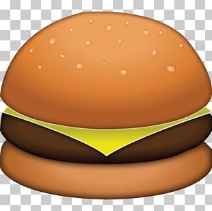 Hamburger Cheeseburger Fast Food Emoji French Fries PNG