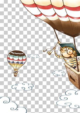 Travel Cartoon Poster Illustration PNG