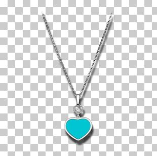 Locket Turquoise Necklace Body Jewellery PNG