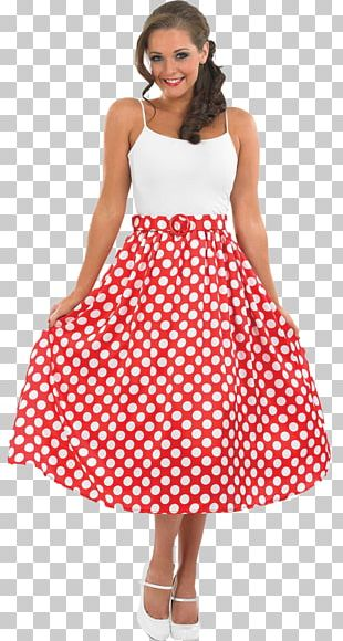 1950s T-shirt Costume Party Dress PNG