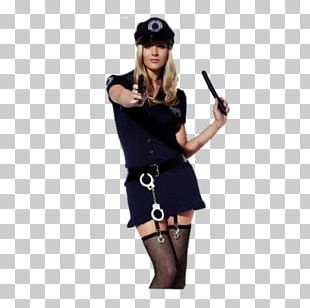 Costume Uniform Police Officer Woman PNG