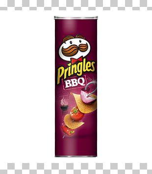 Barbecue Sauce Pringles Potato Chip Flavor PNG