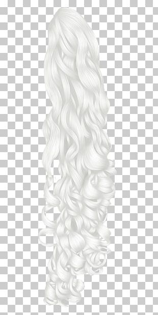 Hair White Ponytail Canities PNG