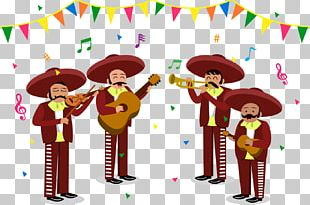Mariachi Mexicans Art Illustration PNG