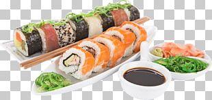 Sushi Japanese Cuisine Sashimi Makizushi Asian Cuisine PNG
