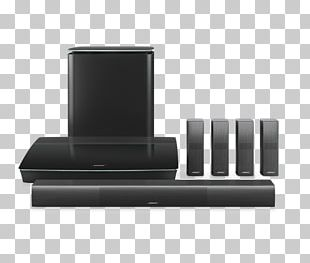 Home Theater Systems Bose Corporation Bose 5.1 Home Entertainment Systems 5.1 Surround Sound Loudspeaker PNG