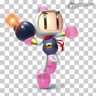 Super Smash Bros. For Nintendo 3DS And Wii U Bomberman 2 Video Game PNG