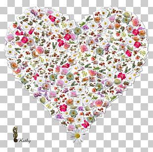 Heart Render Flower Petal PNG