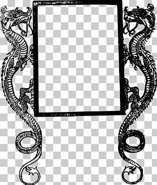 Frames Dragon Decorative Arts PNG