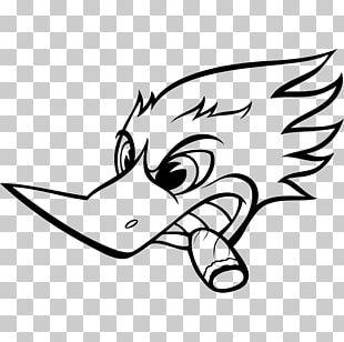 Woody Woodpecker Racing Buzz Buzzard Bugs Bunny PNG