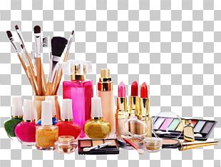 Ingredients Of Cosmetics Beauty Parlour PNG