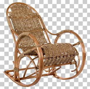 Rocking Chairs Furniture Wing Chair Wicker PNG