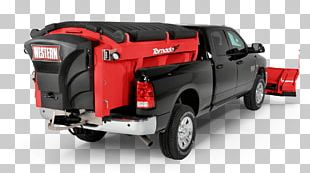 Pickup Truck Car Snowplow Western Products Snow Removal PNG