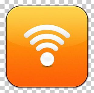 Computer Icon Symbol Yellow Orange PNG