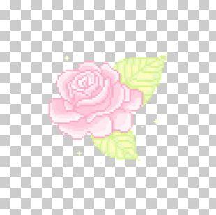 Garden Roses Pixel Portable Network Graphics Flower Kawaii PNG