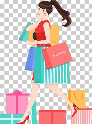 Shopping Illustration PNG