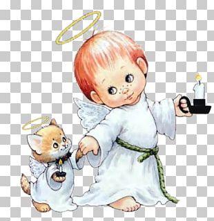 Angel Christmas Embroidery Child PNG