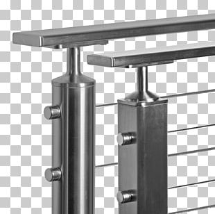 Stainless Steel Handrail Baluster Guard Rail PNG