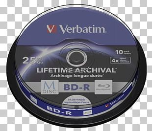 Blu-ray Disc M-DISC Compact Disc DVD Verbatim Corporation PNG