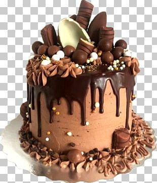 Chocolate Cake Birthday Cake Layer Cake Chocolate Brownie Chocolate Truffle PNG