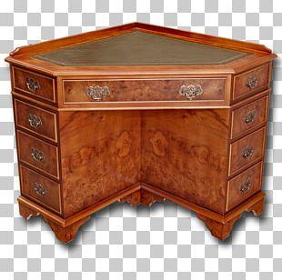 Computer Desk Furniture Drawer Table PNG