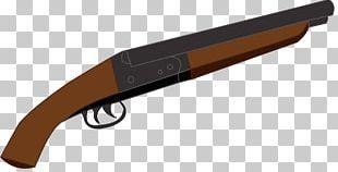 Double-barreled Shotgun Sawed-off Shotgun Gun Barrel Shotgun Shell PNG
