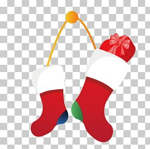 Christmas Stocking Wall Santa Claus PNG