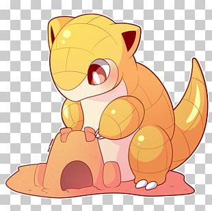 Pokémon Sun And Moon Whiskers Sandshrew Nintendo PNG
