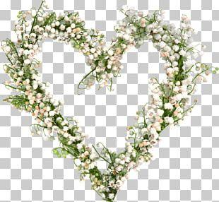 Flower Shape Wreath PNG