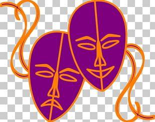 Theatre Mask Drama Tragedy PNG