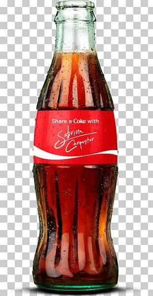 Coca-Cola Fizzy Drinks Diet Coke Bottle PNG