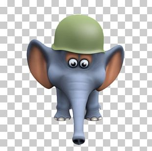 Elephant Photography Soldier Illustration PNG