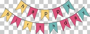 Happy Birthday To You Banner PNG