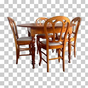 Table Chair Dining Room Furniture PNG