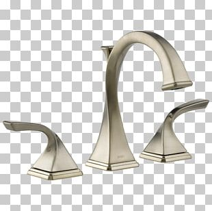 Tap Brushed Metal Bathroom Bathtub Toilet PNG