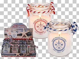 Glass Maritim Candle Tealight PNG