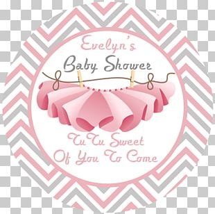 Baby Shower Sticker Label Gift Party Favor PNG