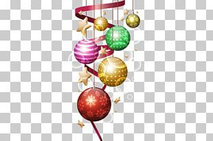 Christmas Ornament Balls Free PNG